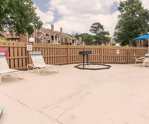 Pool, Oak City Apartments