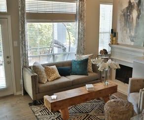 Living Room, Advenir at Prestonwood