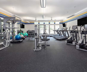 Fitness Weight Room, The District