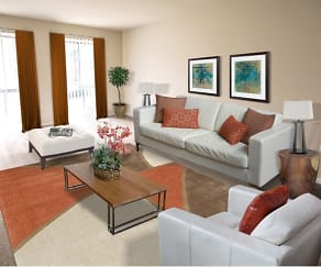 Living Room, Metro Pointe
