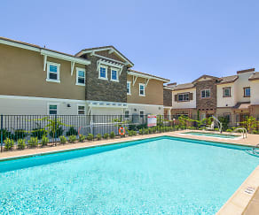 Pool, Coastal Living at San Marcos 55+