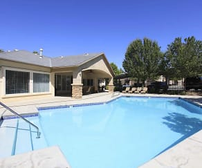 Pool, Belcourt Apartments
