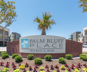 Community Signage, Palm Bluff Place