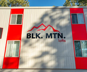 Community Signage, Blk. Mtn. Lofts.