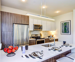 Kitchen, 1177@Greystone Luxury Apartments
