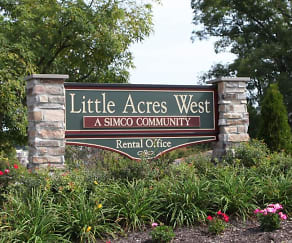 Community Signage, Little Acres Townhomes & Apartments