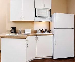Kitchen, Furnished Studio - White Plains - Elmsford