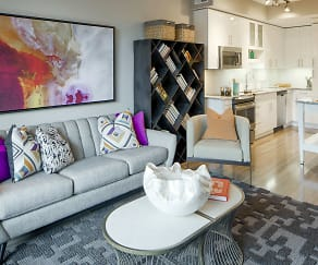 Living Room, Flats 8300