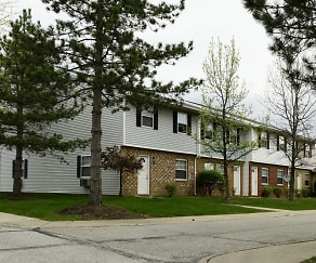 Building, Colony Club Apartments And Townhomes