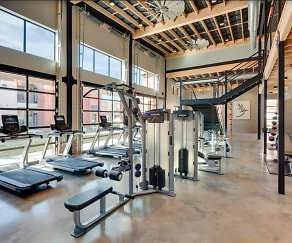 Fitness Weight Room, Turnberry Place at Bluebonnet