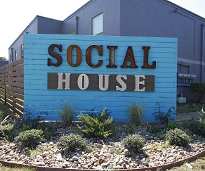 Community Signage, Social House