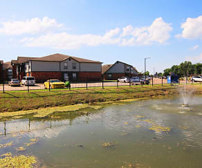 Lake, Pryor Creek Apartments