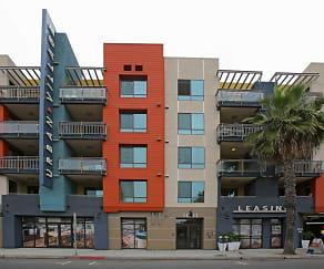 Building, Urban Village Long Beach