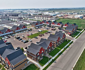 Aerial, Birches Townhomes