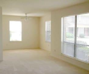 Living Room, Beechwood Apartments