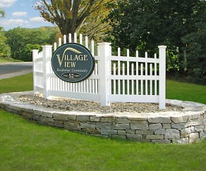 Landscaping, Village View Apartments