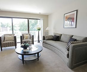 Living Room, SouthRidge Apartments & Townhomes