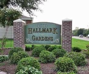 Community Signage, Hallmark Gardens Apartments