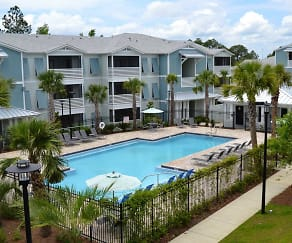 Pool, West Woods Apartments