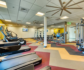 Fitness Weight Room, Metro 101