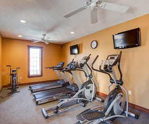 Fitness Weight Room, Embassy Apartments