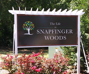 Community Signage, The Life at Snapfinger Woods