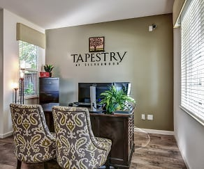 Living Room, Tapestry at Silverwood