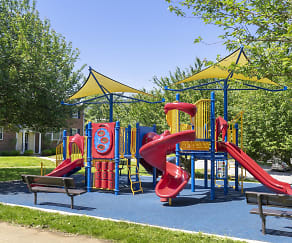 Playground, Rodgers Forge Apartments