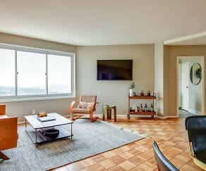 Living Room, Parkmerced Apartments