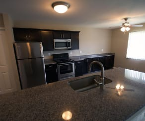 Renovated Kitchen, Charter Square
