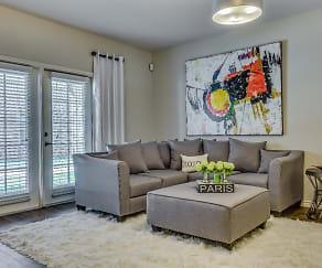 Living Room, La Veranda At Polly Lane Apartments