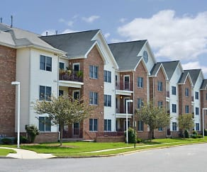 Building, Silver Mill Apartments