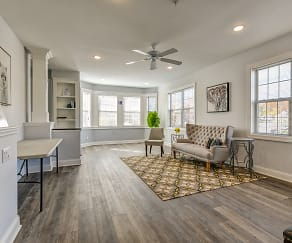 Living Room, Station Square at Fanwood Townhomes