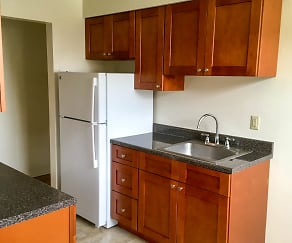 Kitchen, Jasontown Apartments