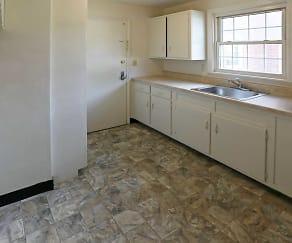 Kitchen, Sunnycrest Manor Apartments