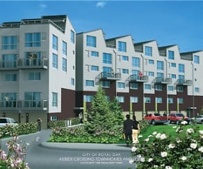 Property Grounds, Amber Crossing Townhomes and Lofts