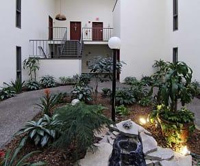 Courtyard, Wintergreen Apartments