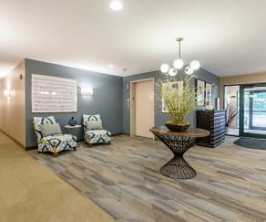 Living Room, RiverPlace Apartments