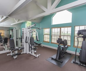Fitness Weight Room, High Pointe Apartments