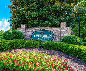 Community Signage, Evergreen at Aubrey's Landing