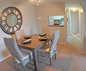 Dining Room, Valley York Apartments