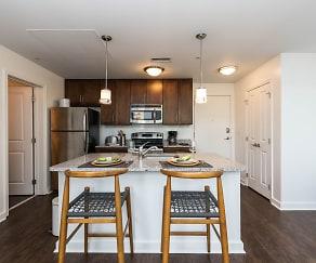 Kitchen, 101 Ellwood Apartments