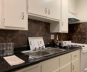 Kitchen, The Gondolier Apartments