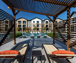 Private Poolside Cabanas, 3Sixty Flats