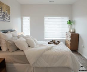 Bedroom, Nichol Flats