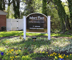 Sign, Asbury Place