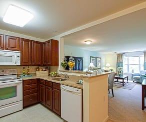 Kitchen, Chestnut Oaks