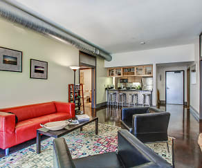 Living Room, The Flats At Southside Works