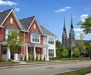 Building, Fairfield Apartments