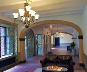 Foyer, Entryway, 75 Prospect Apartments